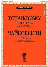 П. Чайковский. Три пьесы из цикла Времена года. Обработка для флейты и фортепиано