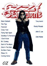 The Best Of Ozzy Osbourne. Нотный сборник для гитары